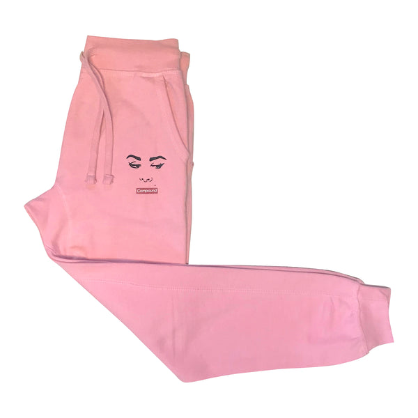 Silence Fleece Jogger Pants (Pink)