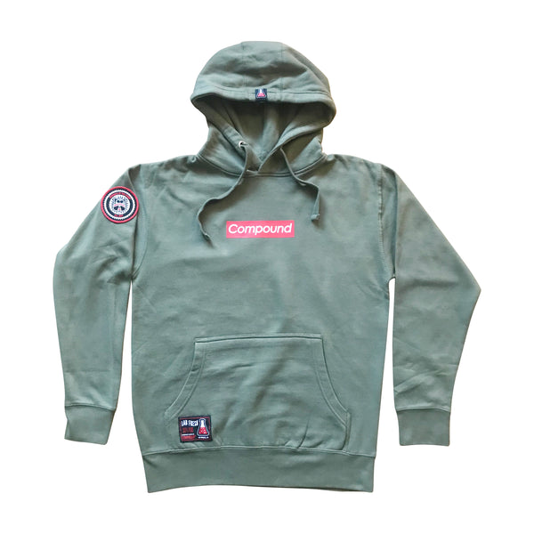 Compound Supreme Fleece Pullover Hoodie (Olive Green)