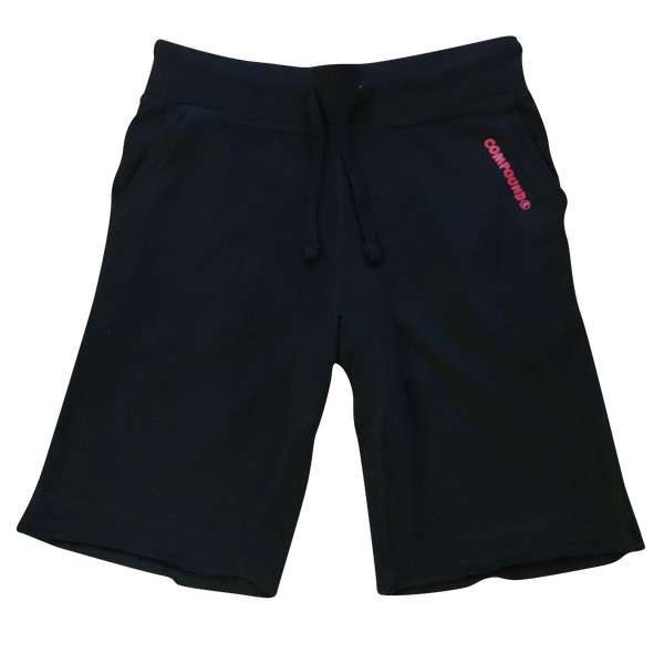 Compound Marshmallow Lightweight Jogger Shorts (Black)