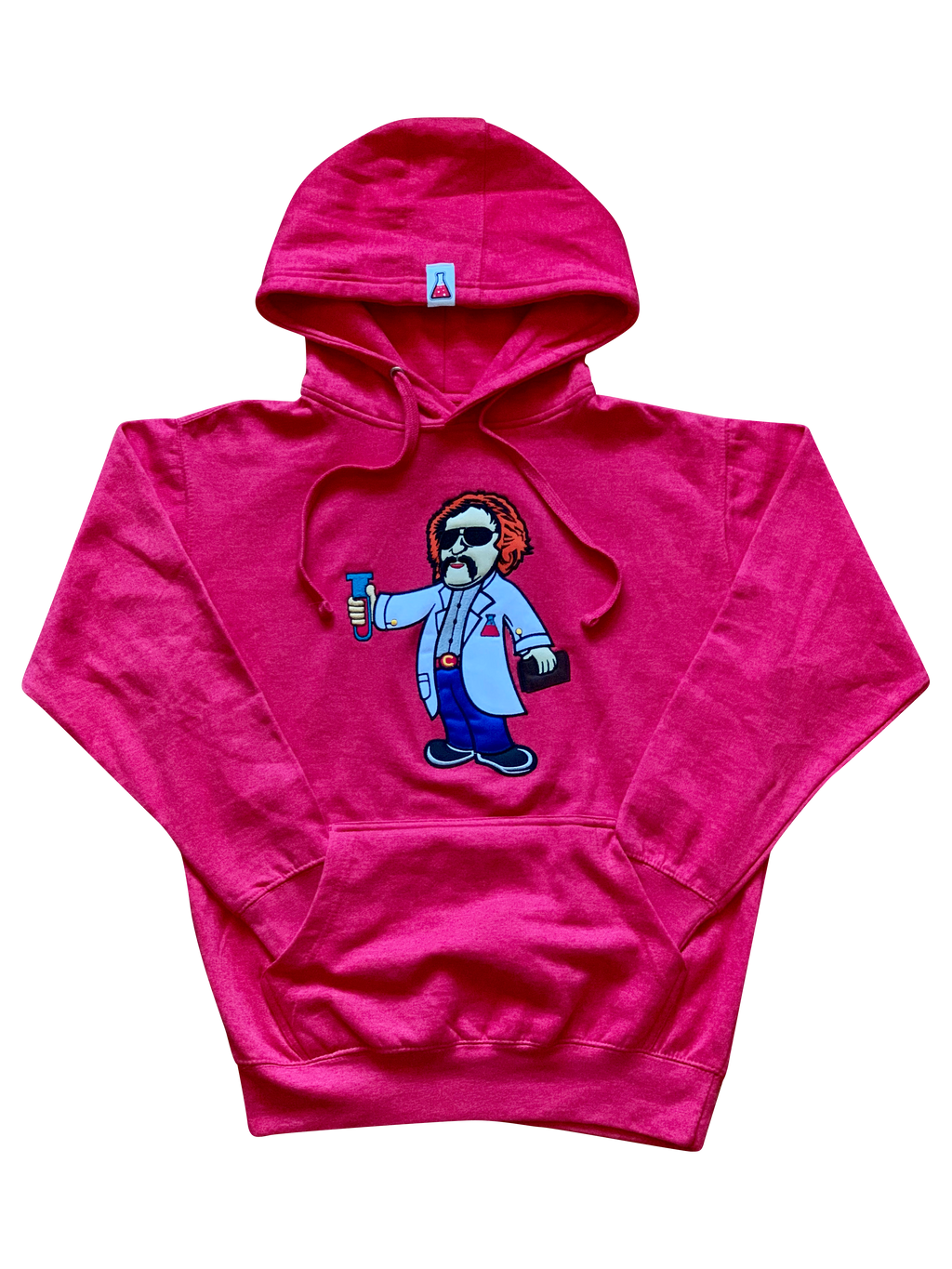 "Lab Scientist Fleece Hoodie ""Limited Edition"" (Heather Red)"