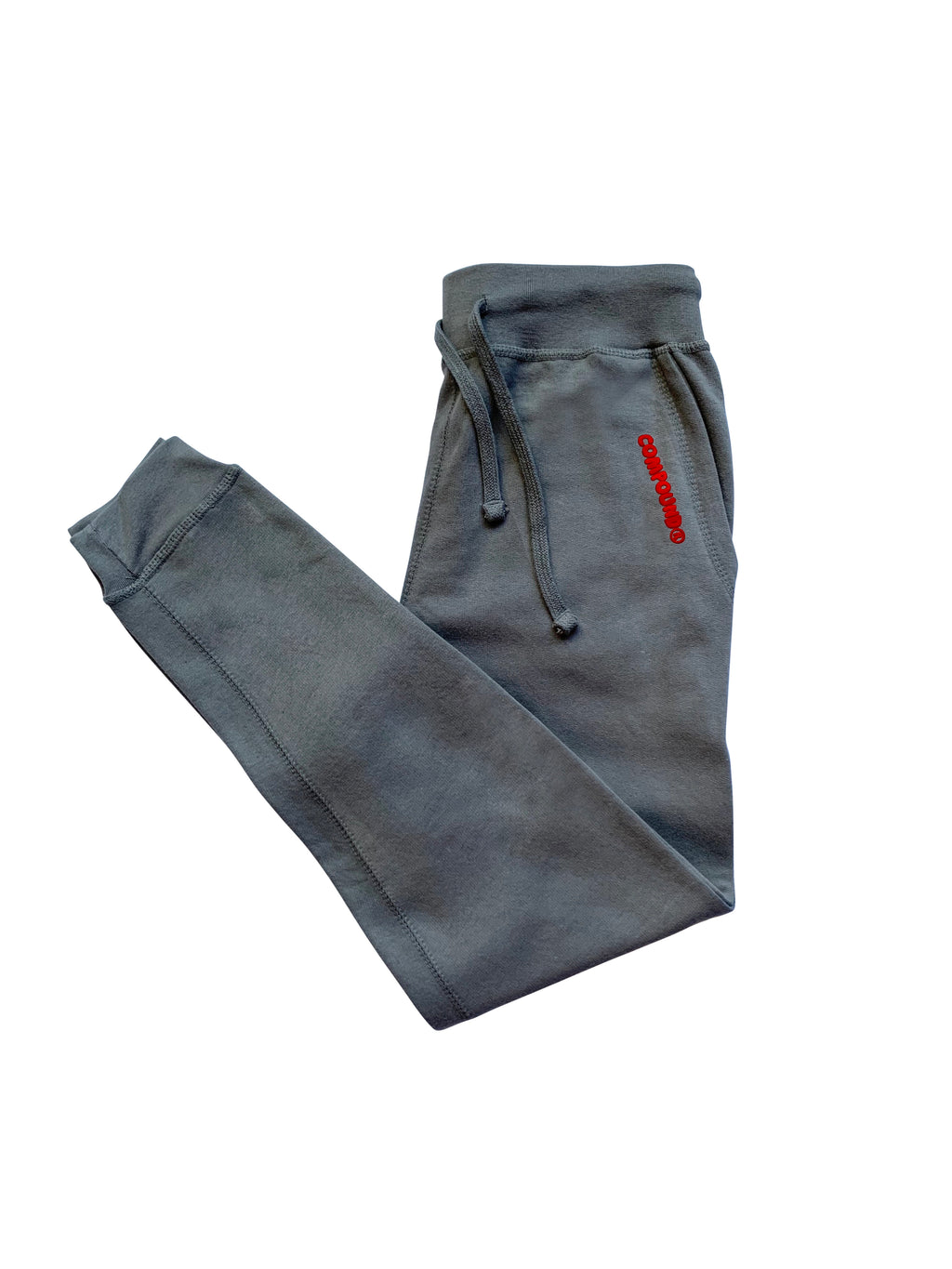 Compound Marshmallow Fleece Jogger Pants (Slate Grey)