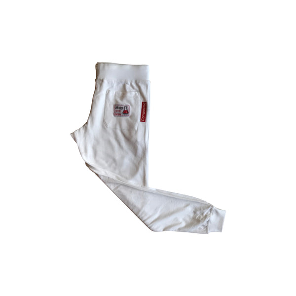 Compound Lightweight Jogger Pants (White)
