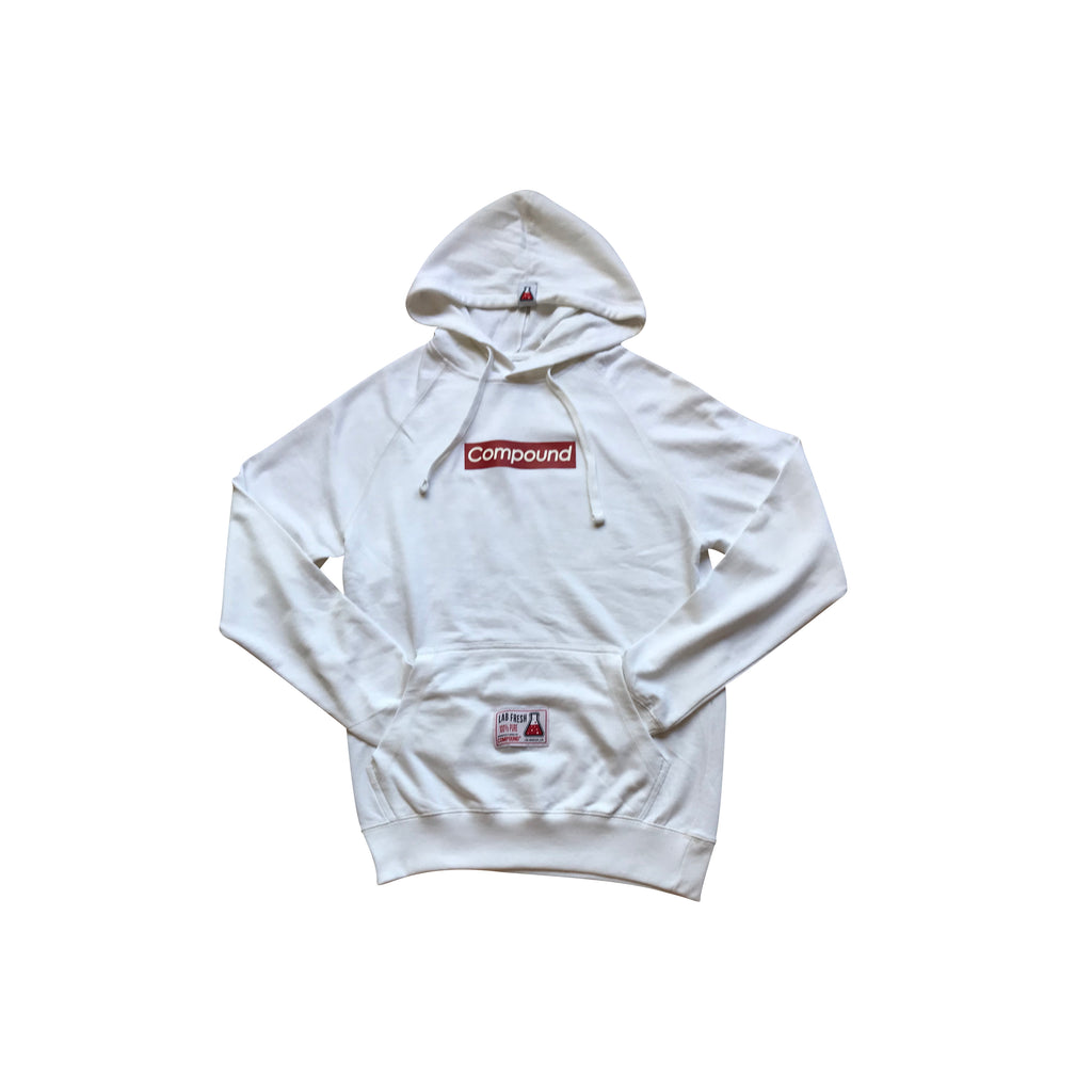Compound Pullover Lightweight Hoodie (White)