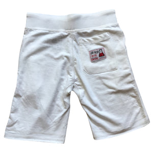 Compound Lightweight Jogger Shorts (White)