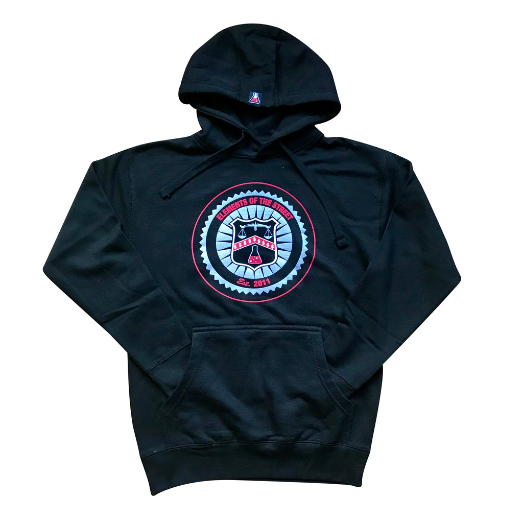 Elements Of The Street Fleece Pullover Hoodie (Black)