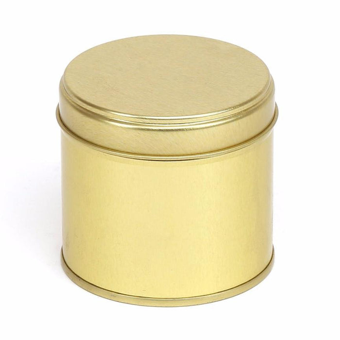25cl Candle Tin Gold - Your Crafts