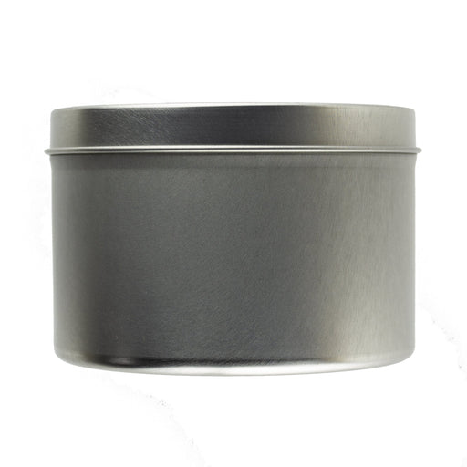 25cl Candle Tin Silver - Your Crafts