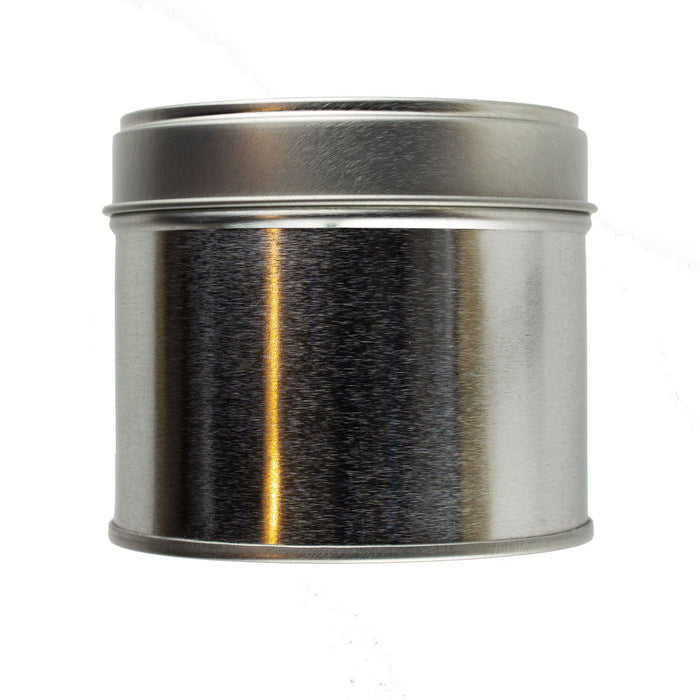 25cl Candle Tin - Silver - Your Crafts