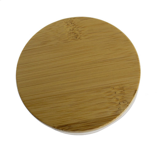 30cl 'Karen' Lid - Natural Bamboo - Your Crafts