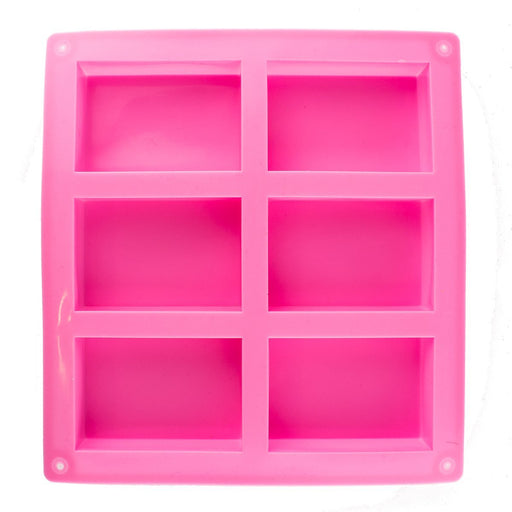 6 Cavity Silicone Soap Mould - Your Crafts