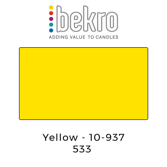 Bekro Dye 10-937 Yellow - Your Crafts