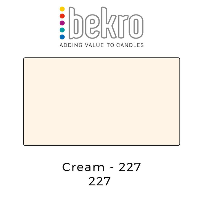 Bekro Dye - 227 - Cream - Your Crafts