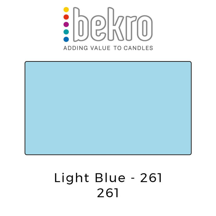 Bekro Dye 261 Light Blue - Your Crafts
