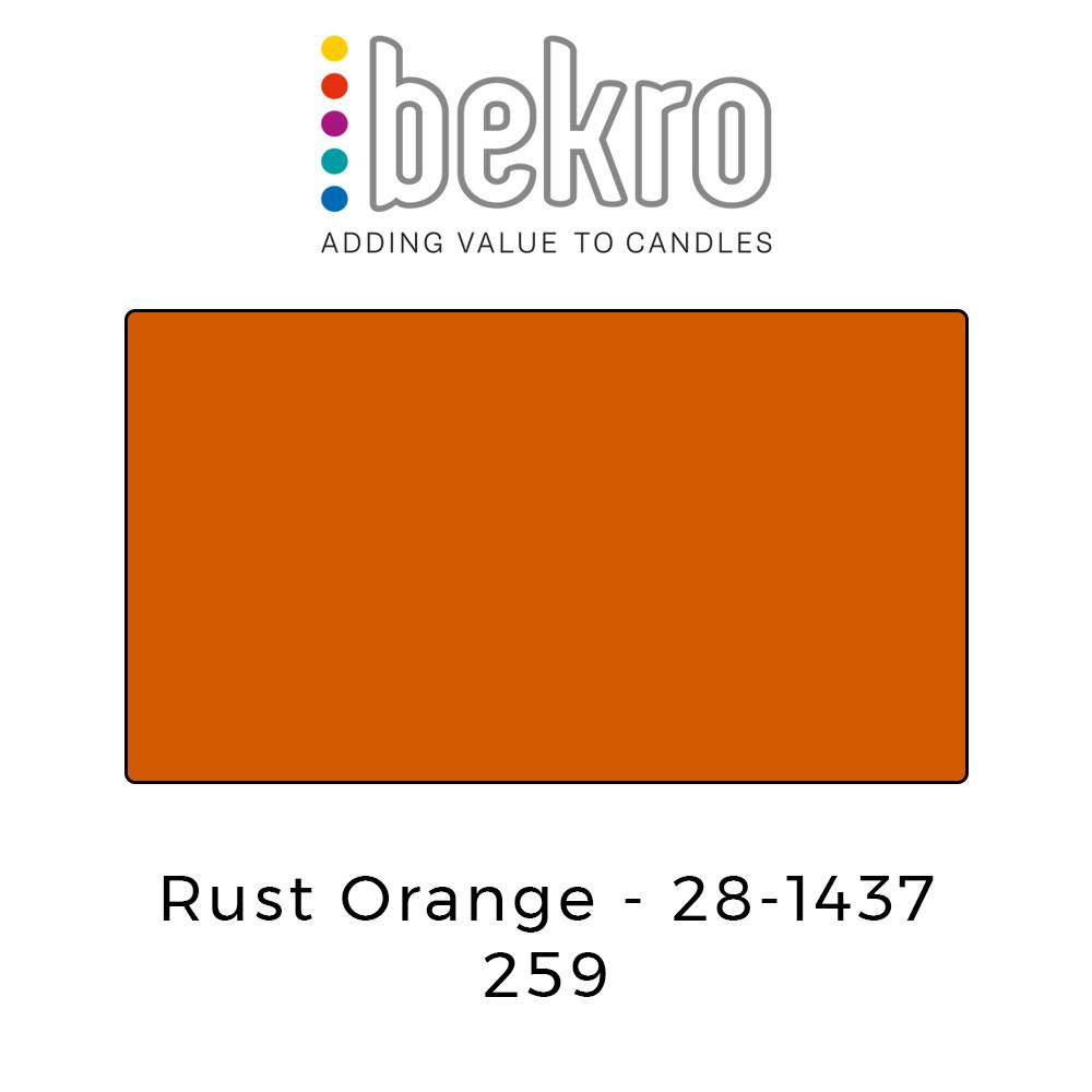 Bekro Dye 28-1437 Rust Orange - Your Crafts