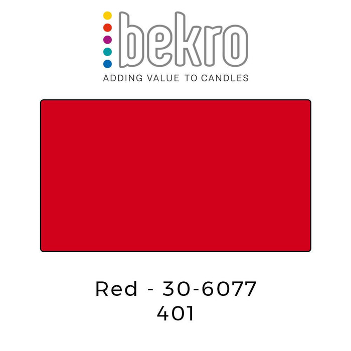 Bekro Dye 30-6077 Red - Your Crafts