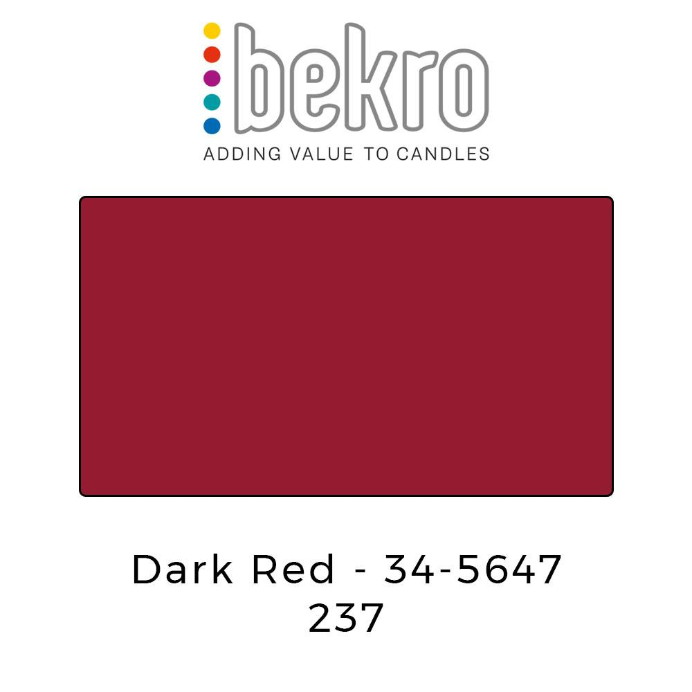 Bekro Dye 34-5647 Dark Red - Your Crafts
