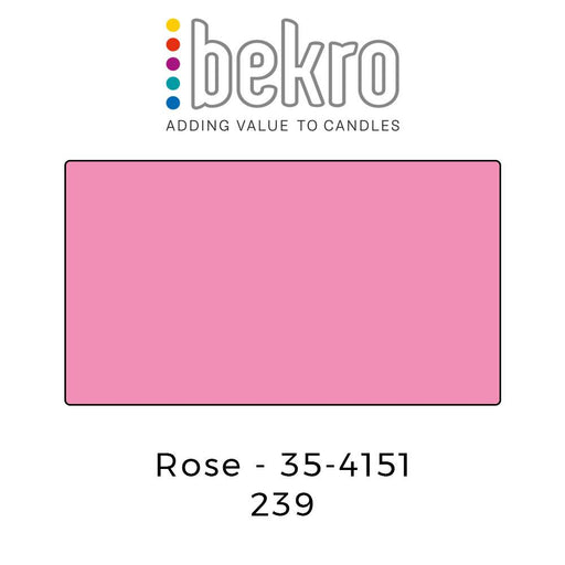 Bekro Dye 35-4151 Rose - Your Crafts