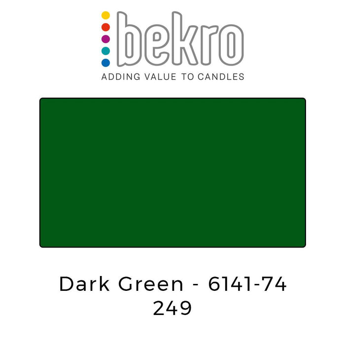 Bekro Dye 6141-74 Dark Green - Your Crafts