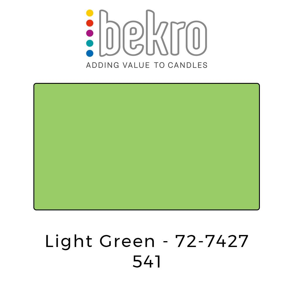 Bekro Dye 72-7427 Light Green - Your Crafts