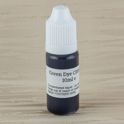 Green Water Based Dye for Soap - CI10020 - Your Crafts
