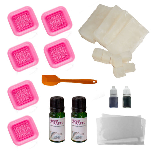 Soap Making Kit - 6 Mould Set - Your Crafts