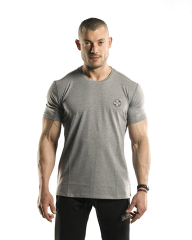 Bar-Basic T-Shirt [Heather Grey]