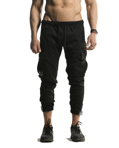 Cargo Joggers - ULTRA Perform-Gear [Black]