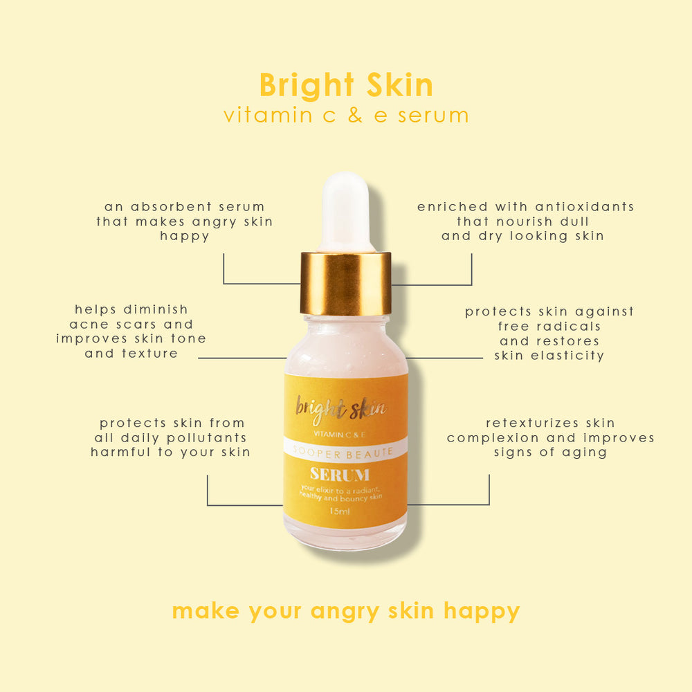 Sooper Beaute Bright Skin Vitamin C & E Serum