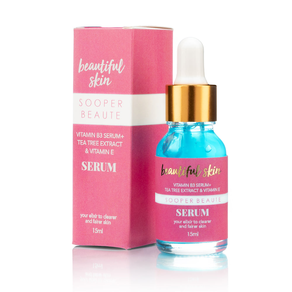 Beautiful Skin Vit B3 Serum + Tea Tree Extract & Vitamin E