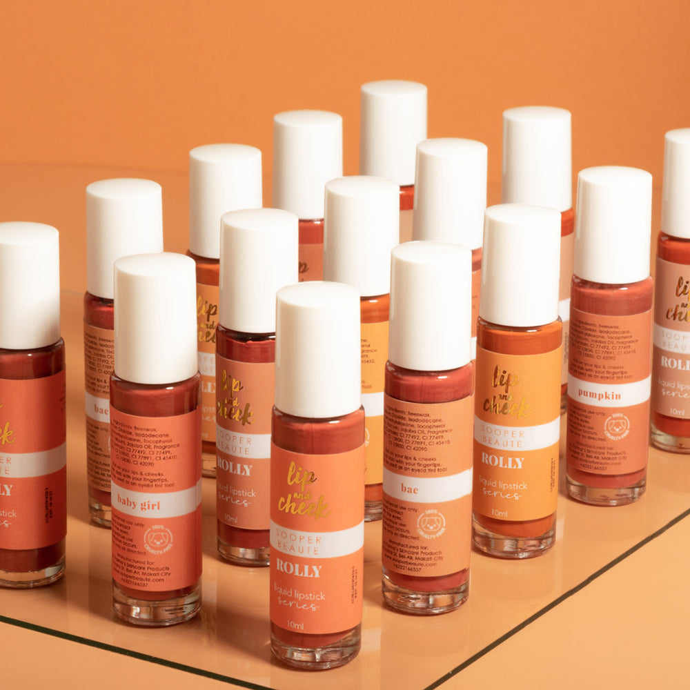 Sooper Beaute Lip and Cheek Rolly (Pumpkin)