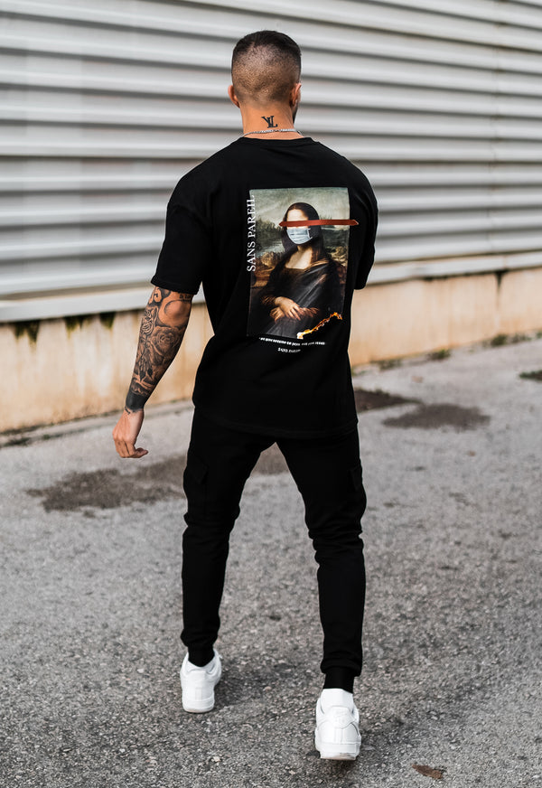 Mona Lisa Oversized T-shirt - Sans Pareil Clothing
