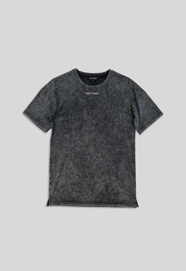 Utility Drop Shoulder Tee [ Acid wash ]