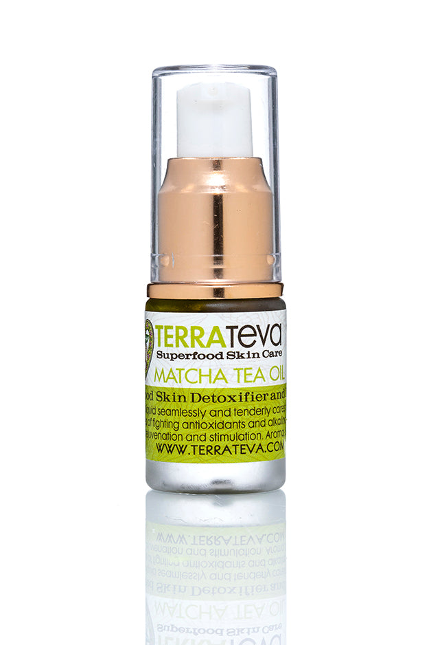 MATCHA TEA OIL Skin Detoxifier, Alkanizer and Enhancer - Normal, Dry, Mature, Combo