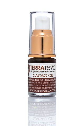 RAW CACAO FACAL OIL or a Glowing Complexion