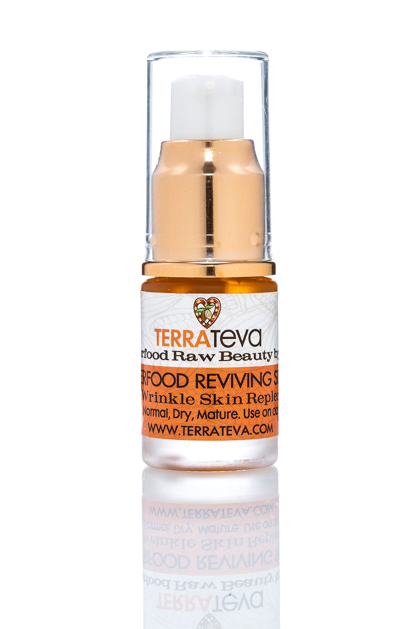 SUPERFOOD SERUM - Anti Wrinkle Face Illuminator - Normal, Dry, Dull Skin Types