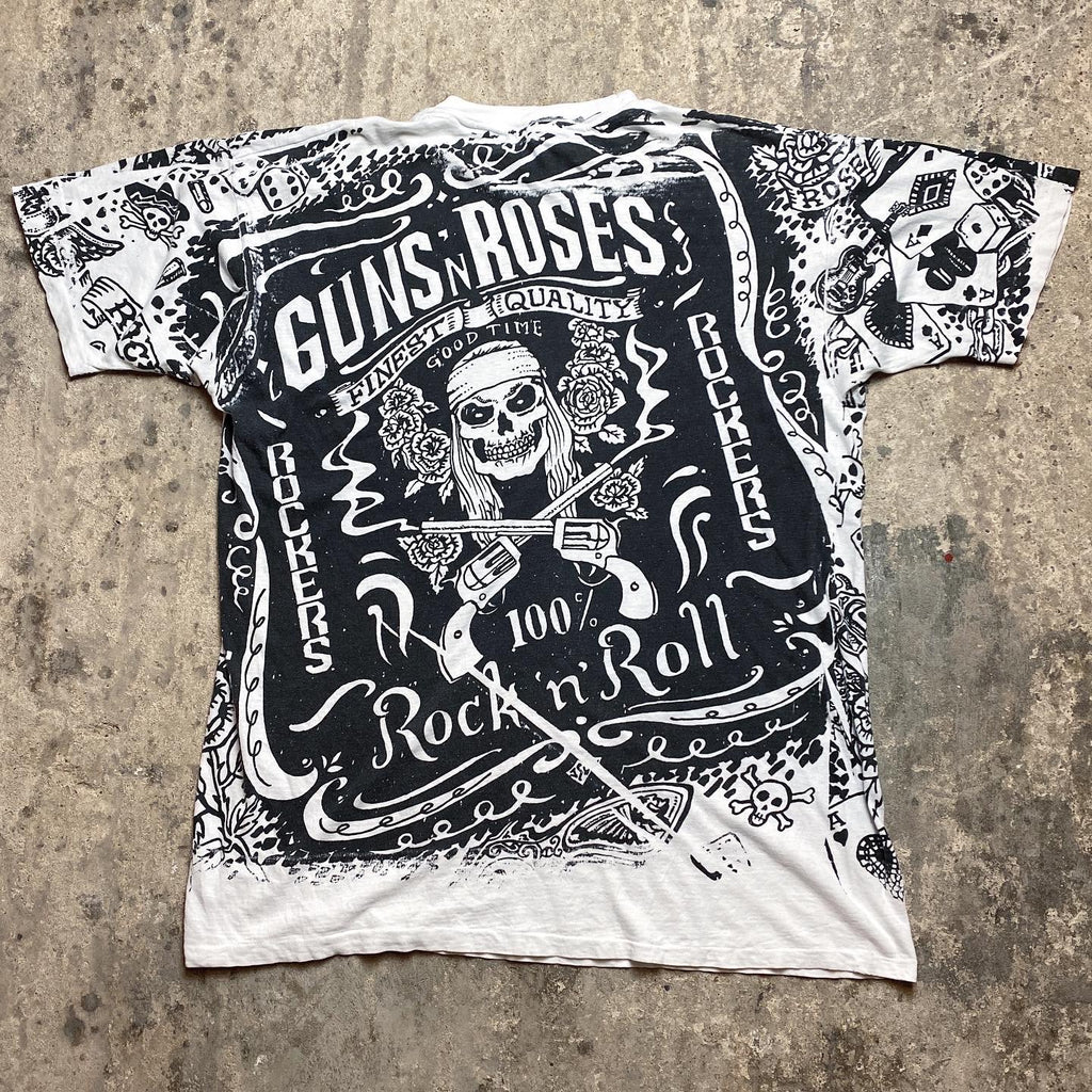 Guns N Roses - '100% Rock N Roll' - 90's - XL/XXL