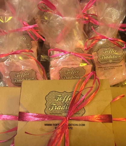 Pink Toffee, Toffee Tradition Pink Toffee, Toffee Tradition