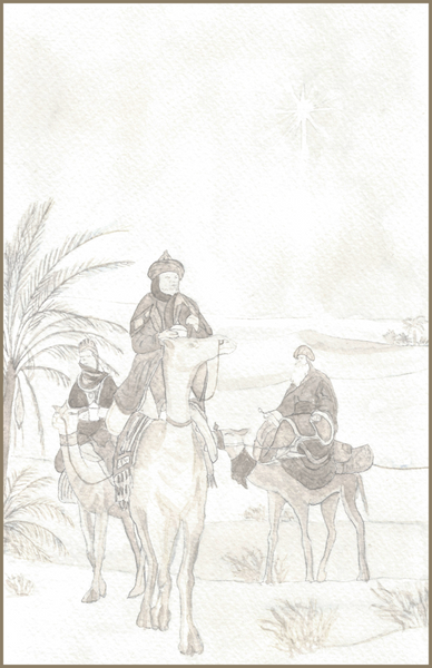 Three Wise Men Sketch