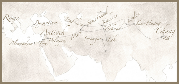 The Silk Route Sketch