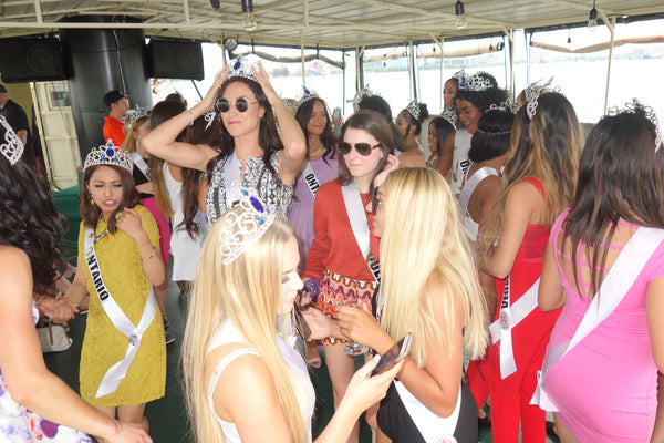 2017 Miss World Canada Toronto harbour boat cruise