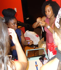 Dahlia makes a watch beautoful for a beauty pageant contestant in Toronto