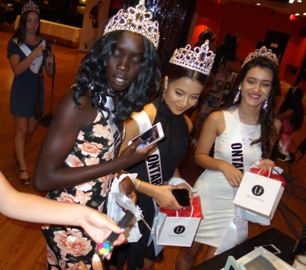 UptotheTime gives expensive gifts to delegates at 2017 Search for Miss Teenage Canada