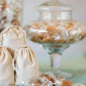 Handcrafted Sea Salt Caramels (Bulk)-Gourmet Wedding Gifts Personalized custom party favors and corporate event gifts