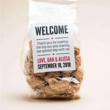 Load image into Gallery viewer, Personalized Artisan Roasted Nuts Gift Bags