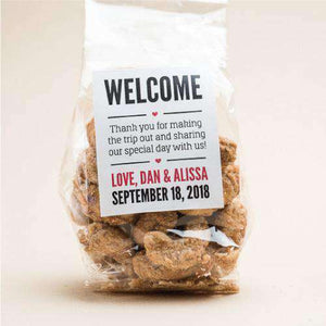 Personalized Artisan Roasted Nuts Gift Bags