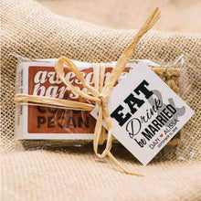 Load image into Gallery viewer, Personalized Large Snack Bar Favors (2.2 oz)-Gourmet Wedding Gifts Personalized custom party favors and corporate event gifts