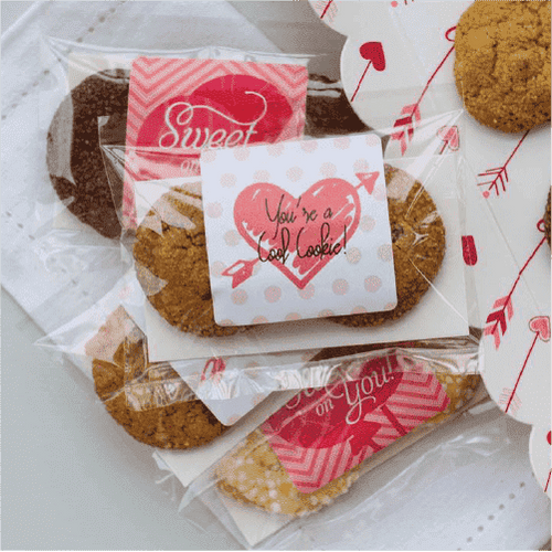 Personalized Cookie Favors (2 packs)-Gourmet Wedding Gifts Personalized custom party favors and corporate event gifts