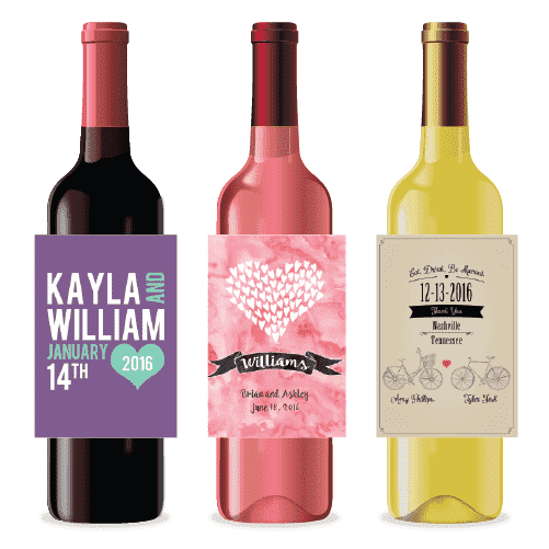 Personalized Wedding Wine Labels Gourmet Wedding Gifts