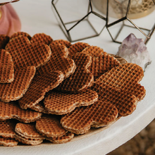 Load image into Gallery viewer, 30 Pack Stroopwafel Heart Wedding Favors