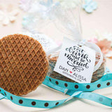 Personalized Stroopwafel Gift Pack Wedding Favors-Wedding Favors Gourmet Wedding Gifts and edible wedding favors